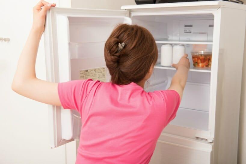 4人家族のミニマリストの冷蔵庫の選び方