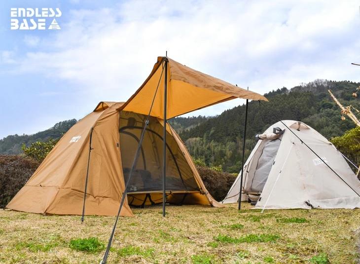 初心者はとにかく簡単テント設営を。一人キャンプ用テントはコレ